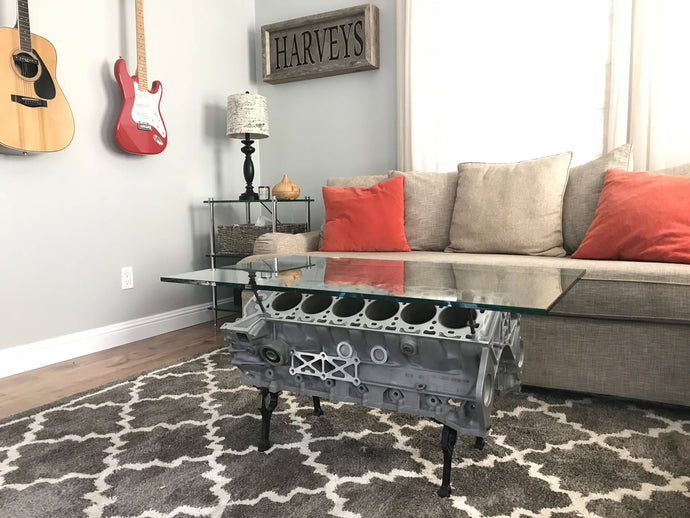 Engine Block Coffee Table - Cave Market
