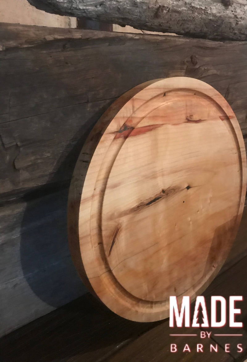 "18"" Single Slab Round Cutting Board - Cave Market Artisan Home Goods and Furniture"