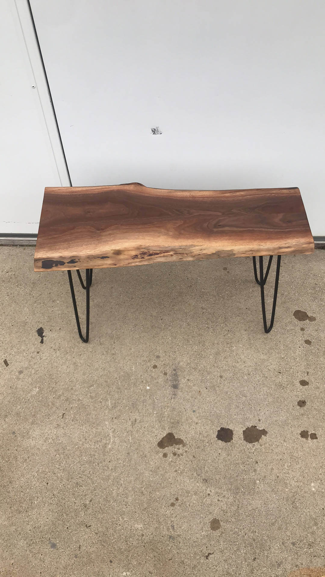 Walnut Bench - Cave Market Artisan Home Goods and Furniture