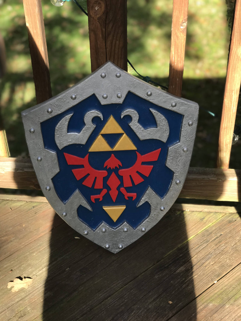 Legend of Zelda Ocarina of Time Master Shield - Life Size - Cave Market Artisan Home Goods and Furniture
