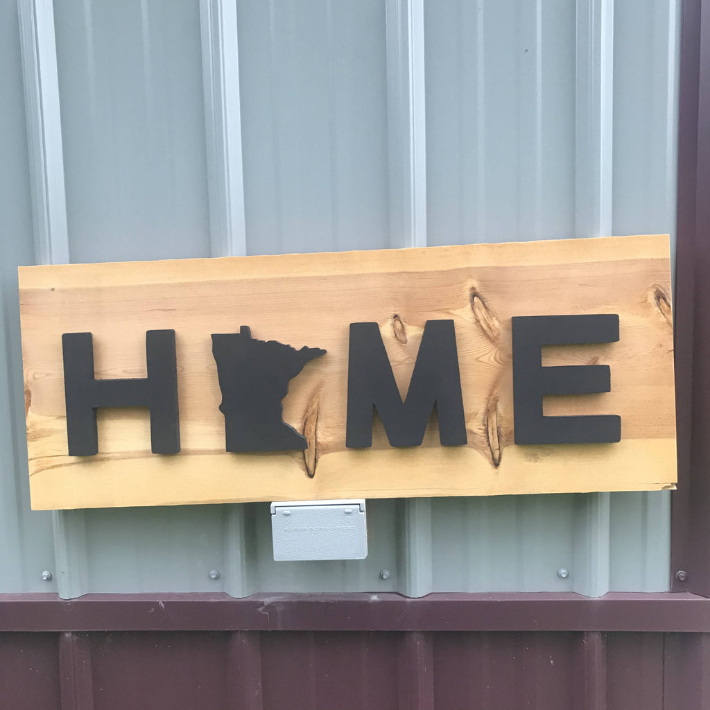 MN Home Sign - Cave Market Artisan Home Goods and Furniture
