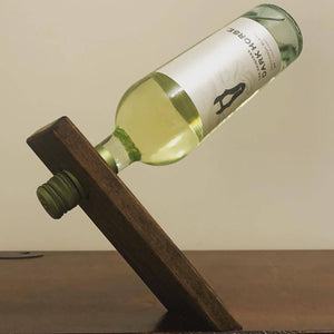 Magic Wooden Wine Bottle Holder - Cave Market Artisan Home Goods and Furniture