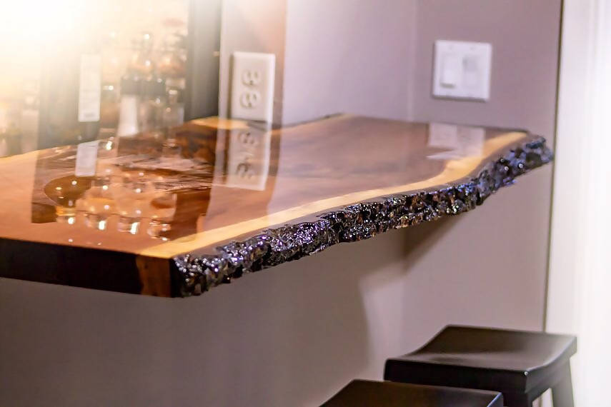 Custom Order Bar Tops - Cave Market Artisan Home Goods and Furniture