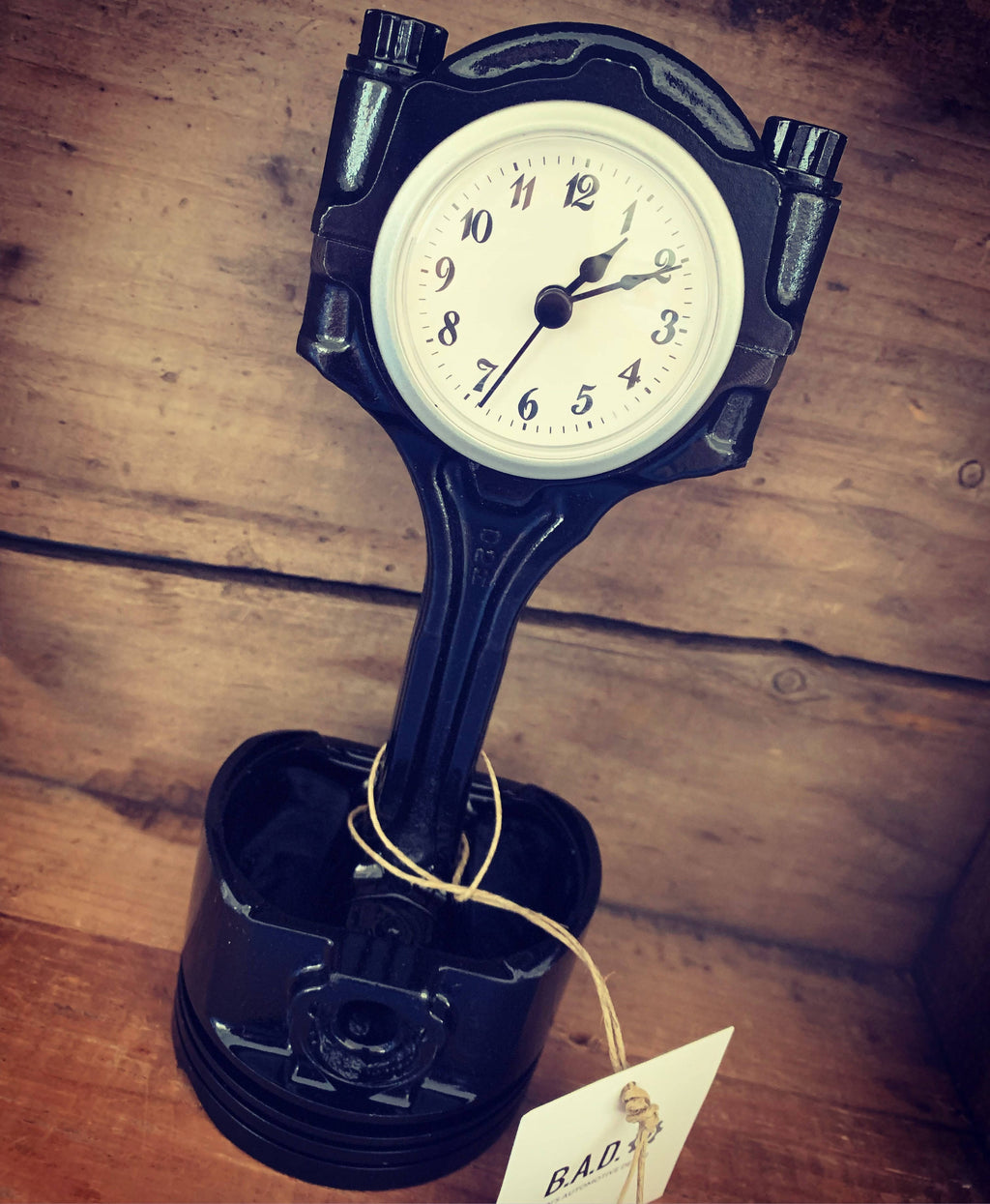 Piston Clock - Cave Market Artisan Home Goods and Furniture