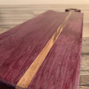Purple Heart Charcuterie Board - Cave Market Artisan Home Goods and Furniture