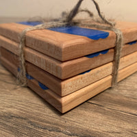 Epoxy river coasters - Cave Market Artisan Home Goods and Furniture