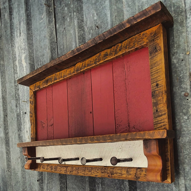 Rustic Entry Rack - Cave Market Artisan Home Goods and Furniture