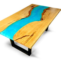 Custom Order Live Edge River Dining Tables - Cave Market Artisan Home Goods and Furniture