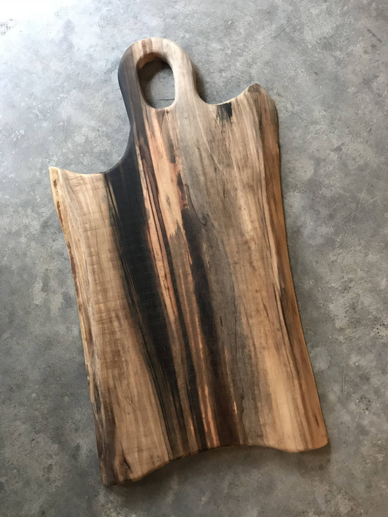 Poplar Charcuterie Board -Live Edge - Cave Market Artisan Home Goods and Furniture