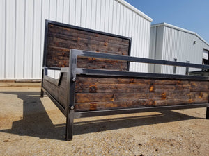 Industrial Double Drop Bed - Cave Market Artisan Home Goods and Furniture