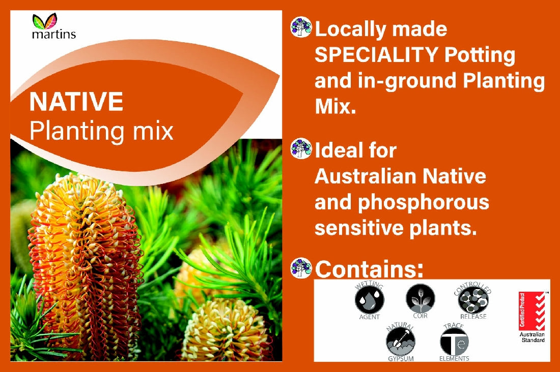 MARTINS NATIVE PLANTING MIX 30LT