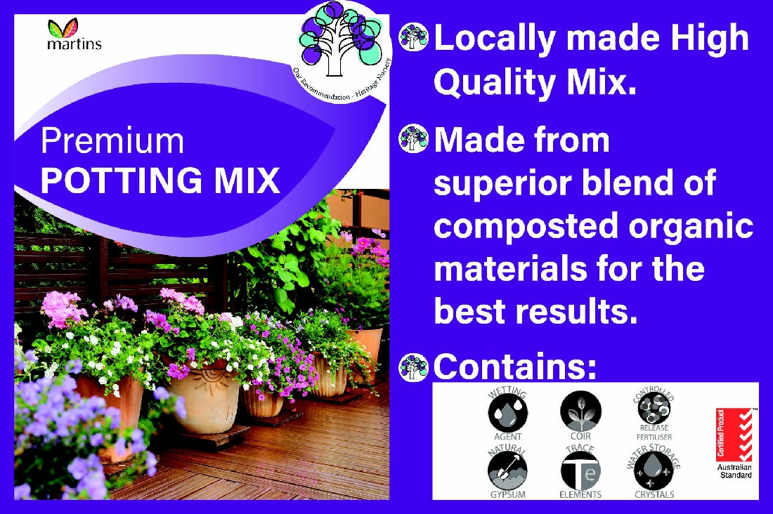 MARTINS PREMIUM POTTING MIX 10LT