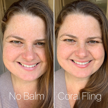 Load image into Gallery viewer, Coral Fling - Tinted Organic Lip Balm