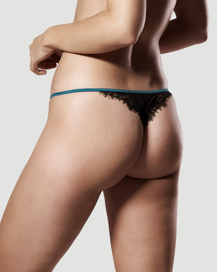 Nymphalis thong - TEMPLE INTIMATES Luxe Lingerie