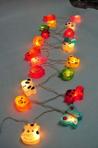 Animals Fancy Lantern String Fairy Night Lights Kid Bedroom Home Children Decor