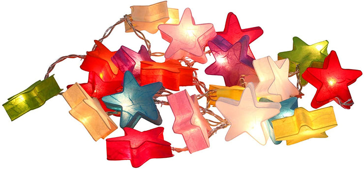 Fancy Star Lantern String Fairy Night Lights Kid Bedroom Home Children Decor