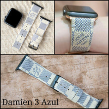 Load image into Gallery viewer, Apple Watch Band  Damier LV Monogram