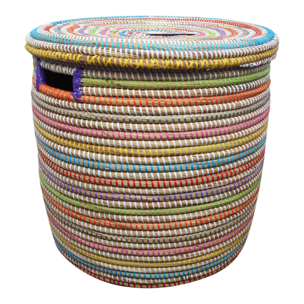 Laundry Basket Multicoloured