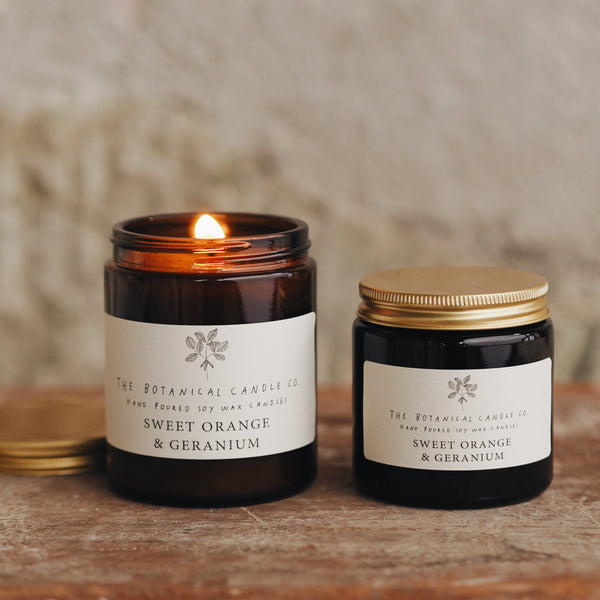 Botanical Candle Co | Sweet Orange & Geranium