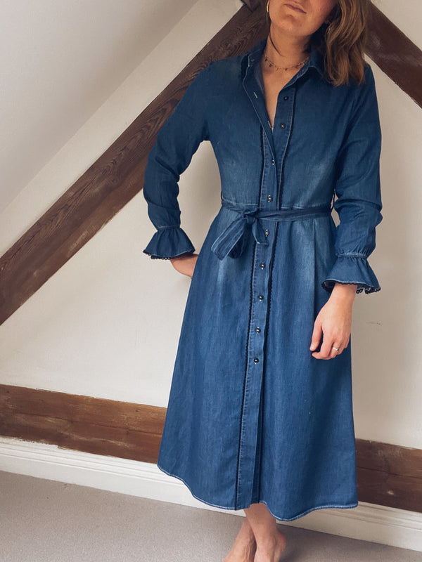 Fi Denim Dress