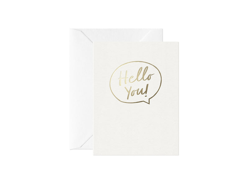 Hello You! Greeting Card