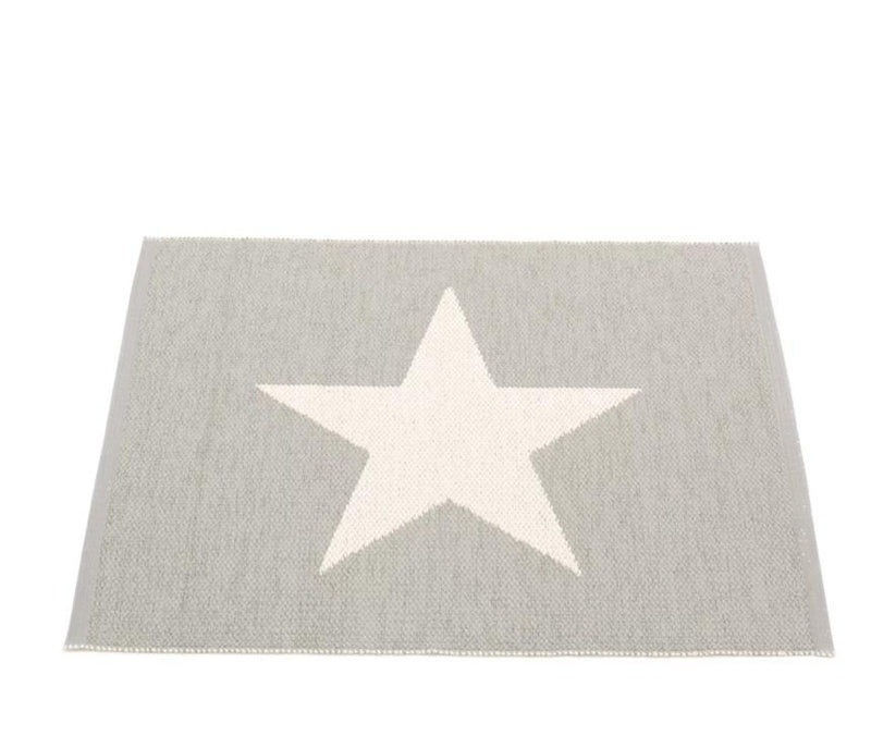 Pappelina Viggo Small One Warm Grey Rug 70x90cm