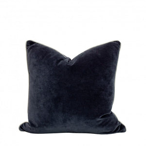 Velvet Cushion | Navy