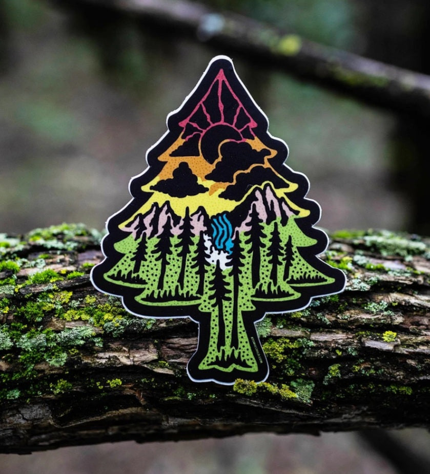 Evergreen Tree Sticker