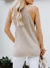 Load image into Gallery viewer, Apricot Knit Tank Top