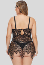 Load image into Gallery viewer, All Over Lace Chemise with Thong