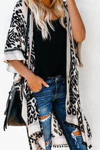 Load image into Gallery viewer, Black Prowess Pom Pom Kimono