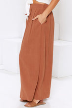 Load image into Gallery viewer, Orange Buttoned Maxi Skirt