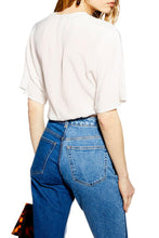 Load image into Gallery viewer, White Buckle Wrap Crop Top