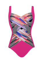 Load image into Gallery viewer, Rose Utopia Shaped Square Neck One-piece swimsuit