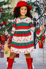 Load image into Gallery viewer, Grinch Stole Christmas Little Girl Dress