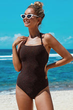 Load image into Gallery viewer, Scatter Halter One-piece Swimsuit