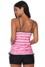Load image into Gallery viewer, Rosy Print Tankini Swimwear