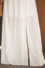 Load image into Gallery viewer, White Essence of Beauty Cotton Pocket Maxi Dress