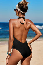 Load image into Gallery viewer, Black Ember One Piece Swimwear