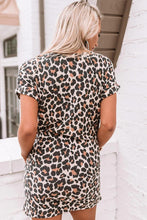 Load image into Gallery viewer, First Sparks Leopard Shift Dress