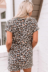 First Sparks Leopard Shift Dress