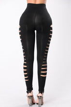 Load image into Gallery viewer, Black Side Cut Out Legging