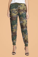Load image into Gallery viewer, Camouflage Printed Sequin Pants