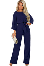 Load image into Gallery viewer, Blue Date Night Jumpsuit