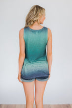 Load image into Gallery viewer, Green Ombre Tank Top