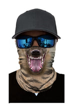 Load image into Gallery viewer, Animal Print Cycling Motorcycle Head Scarf Neck Warmer Face Mask