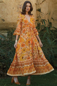 Orange Lady Love Maxi Dress