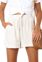 Load image into Gallery viewer, White Summer Casual Shorts