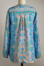 Load image into Gallery viewer, Sky Blue Moroccan Breeze Tunic