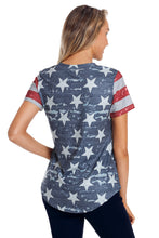Load image into Gallery viewer, Camo Stars Stripes Tee